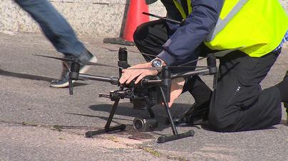 Así funcionan los drones de la DGT que controlan las carreteras esta Semana Santa