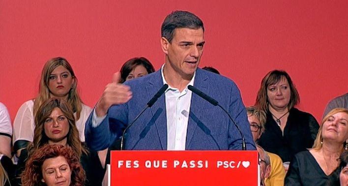 Sánchez: 'Nunca va a haber referéndum ni independencia'