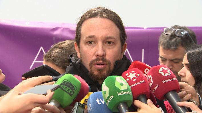 Iglesias acusa al Gobierno de usar RTVE