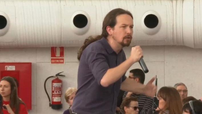 Iglesias llama a votar a Unidas Podemos