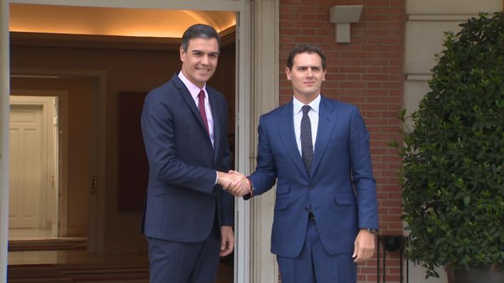 Rivera anuncia que no se abstendrá para investir a Pedro Sánchez