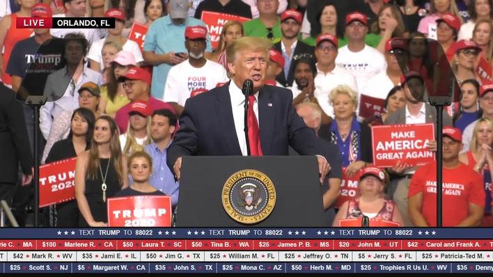 Arranca la nueva campaña de Trump: nuevo eslogan, mismo mensaje