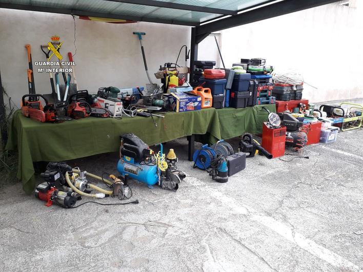 Detenido un hombre por múltiples robos en casas de campo de Mallorca