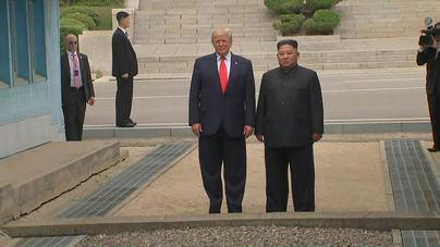 Trump y Kim acuerdan la reanudación de las conversaciones nucleares