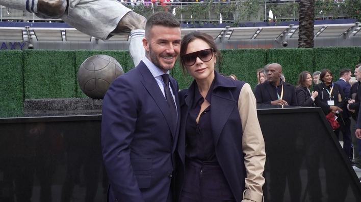 David y Victoria Beckham celebran sus 20 años juntos