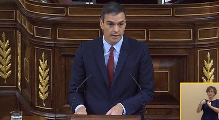 Sánchez pide el apoyo de Podemos en la investidura: