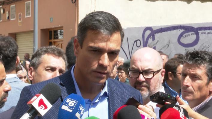Sánchez dice que cumple todas las condiciones de Rivera para que PP y Cs se abstengan