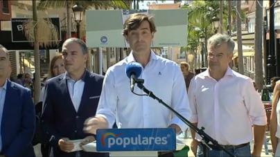 El PP exige al PSOE que pida perdón por