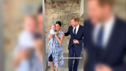 Archie, el hijo de los duques de Sussex, acude a su primer acto oficial