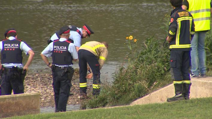 Hallan muerto al bebé arrojado por su padre al río Besòs