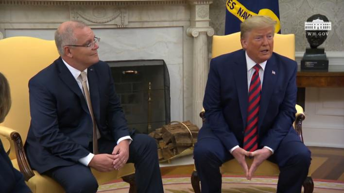 Trump presionó al primer ministro australiano para desacreditar a Mueller