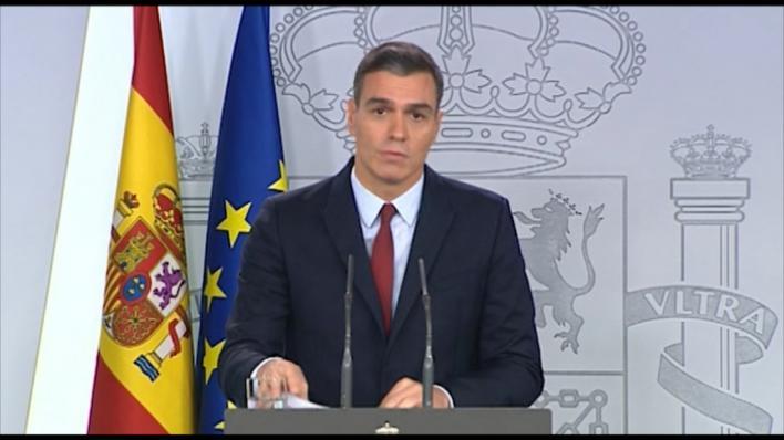 Sánchez sobre la exhumación de Franco:
