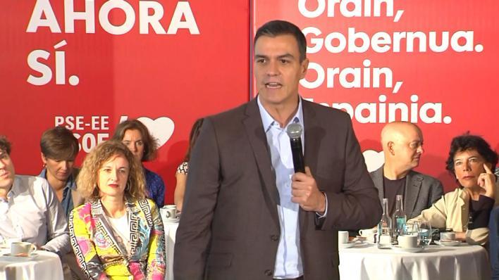 Sánchez promete no pactar un Gobierno con el PP