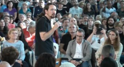 Iglesias dice que 'el plan' es restaurar el bipartidismo