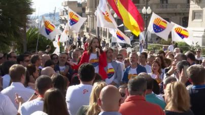 Arrimadas avisa a Sánchez: 'Empieza a oler aquí a Andalucía'