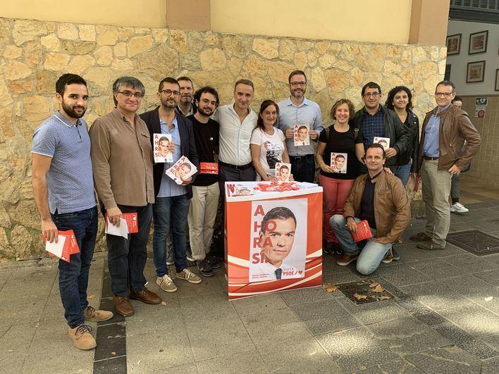 Pere Joan Pons anuncia el compromiso del PSOE de aumentar de nuevo el salario mínimo