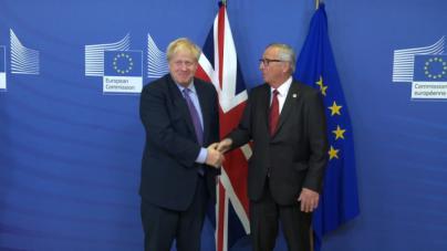 Johnson asume el acuerdo con Bruselas como única forma de Brexit
