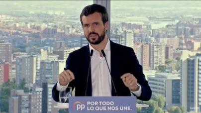 Casado advierte a Sánchez que será 'responsable' si hay violencia