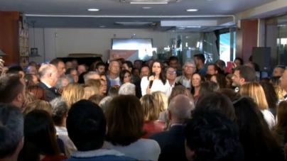 Arrimadas pide el voto a Cs para parar el nacionalismo