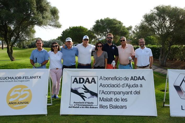 Récord de recaudación en el XV Torneo benéfico de Golf Renault Llucmajor