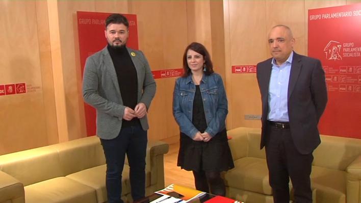 ERC decide hoy si se abstienen en la investidura de Sánchez