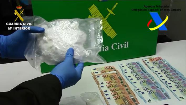 Cazado en el Puerto de Palma con 700 gramos de cocaína