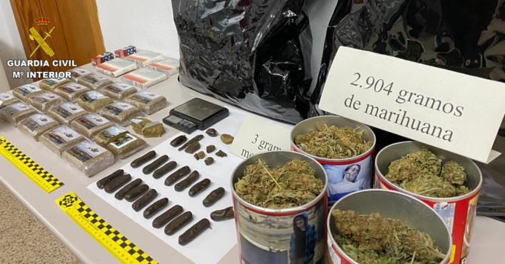 Detenido en s'Arenal por tráfico de drogas en pleno estado de alarma