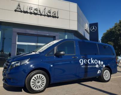 Autovidal entrega la primera Mercedes-Benz e-Vito a Gecko Hotel