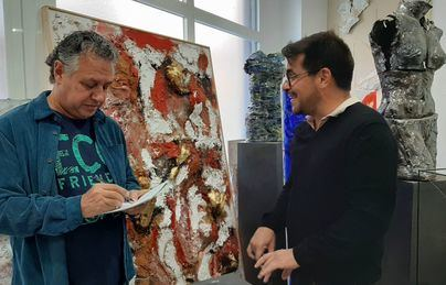 Ernesto Rodríguez o el lenguaje de la perseverancia