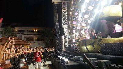 Quinto año del dj francés David Guetta en Ushuaïa