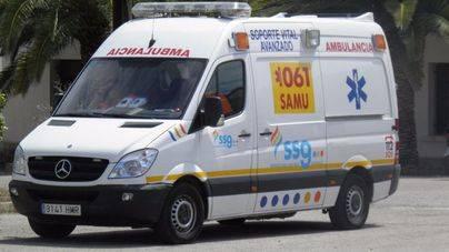 Un niño de 4 años resulta atropellado en el Port de Sant Miquel