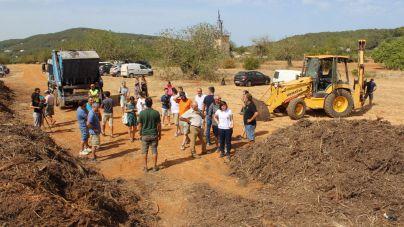 Santa Eulària exige que el Govern y el Consell paguen los gastos de gestionar los lodos de la depuradora