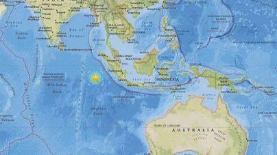 Varios muertos tras el terremoto de magnitud 7,9 al suroeste de Indonesia