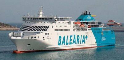 Baleària ofrecerá un 50% más de plazas entre Menorca y la península durante esta Semana Santa