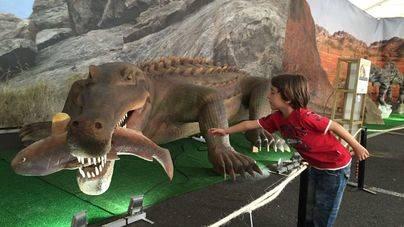 La exposición de dinosauros ExpoJurásico llega a Maó el próximo 19 de marzo