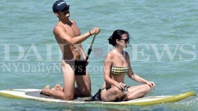 Orlando Bloom, cazado desnudo junto a Katy Perry
