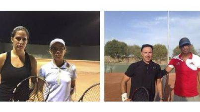 Gemma Negré y Juan Carlos Ayer campeones del Open Sant Llorenç