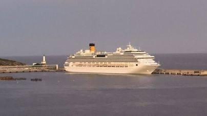 El Puerto de Eivissa acogerá 340.000 cruceristas este año
