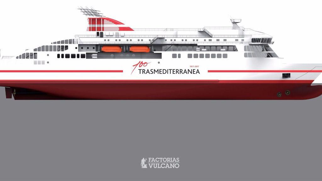 Trasmediterranea encarga la construcci n de un nuevo ferry - Empresas de construccion en vigo ...