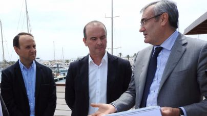 Las obras del puerto de La Savina estarán acabadas antes de final de mes