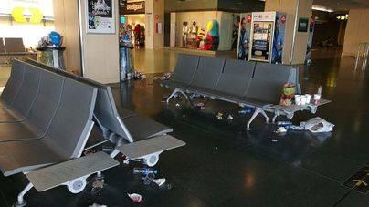 Situación crítica en el aeropuerto de Eivissa, con amenaza de cierre incluida