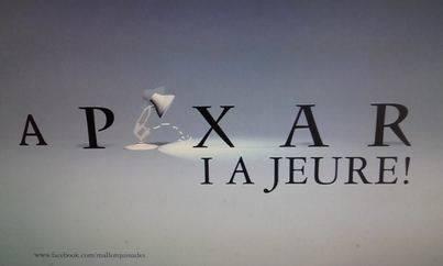 La expresión mallorquina 'A pixar i a jeure' y el cine