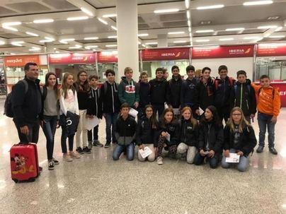 Regatistas del Club Nàutic s'Arenal participan en el Campeonato de España de Optimist
