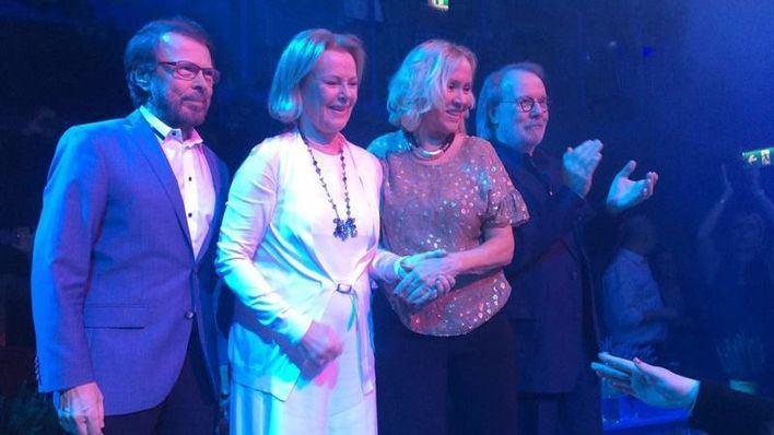 ABBA se reúne por primera vez en 8 años