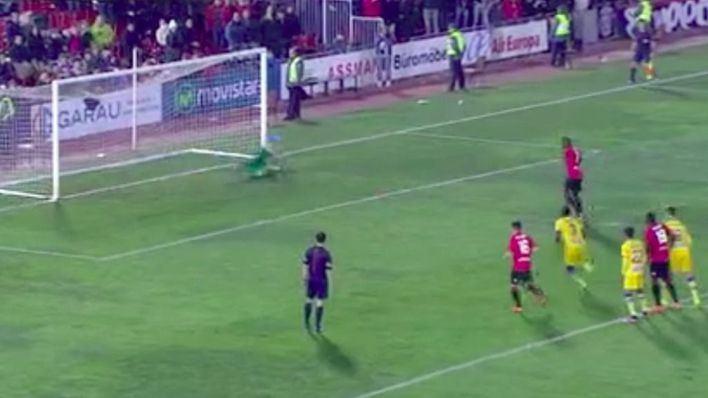 Pereira ha marcado el gol de la victoria