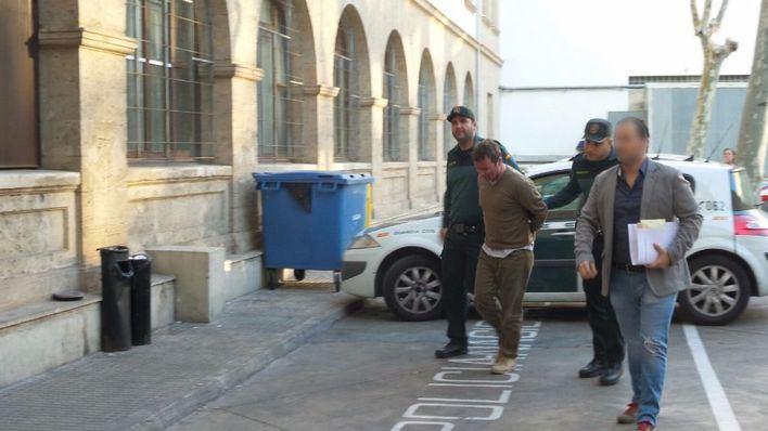 El autor confeso del crimen de Calvià declara ante el juez