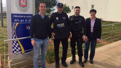 La Policía Local de Santanyí estrena chalecos antibala