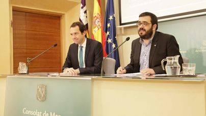 Los consellers Pons y Vidal