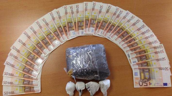 Detenido en Palma un joven con 640 gramos de cocaína
