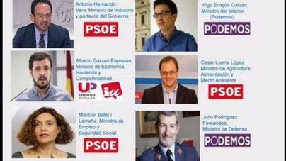 Podemos Zaragoza publica el 'reparto de carteras'
